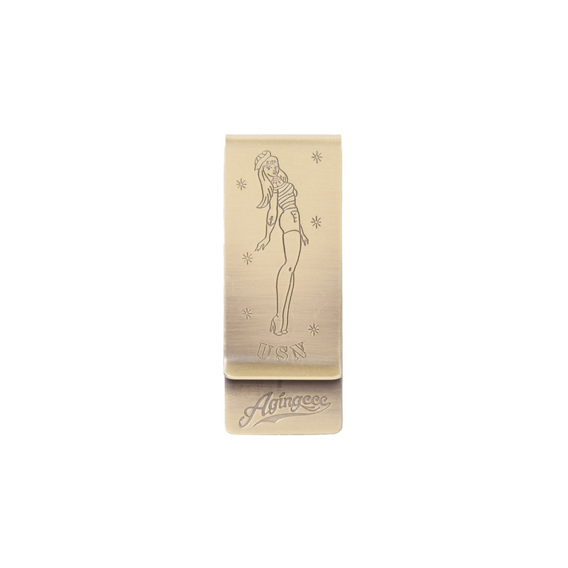 [70%]30# PINUP GIRL MONEY CLIP